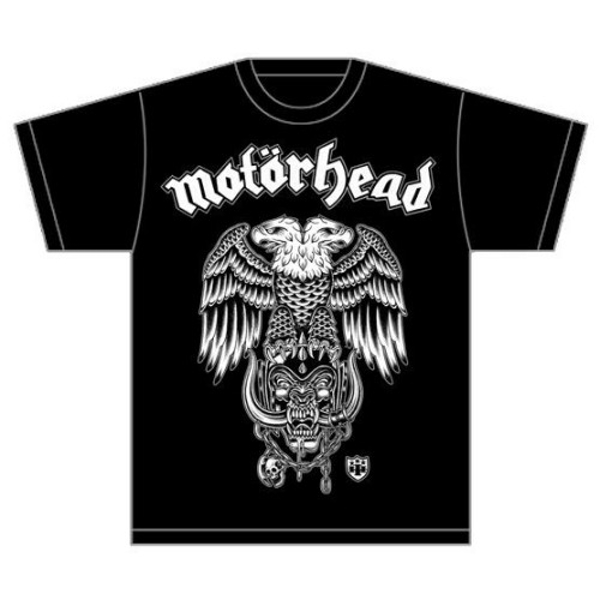 Motorhead - Hiro Double Eagle Unisex Large T-Shirt - Black