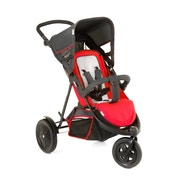 Hauck Freerider Double Buggy Red