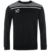 Sondico Precision Sweatshirt Adult X Large Black/Charcoal