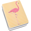 Flamingo Metal Tin