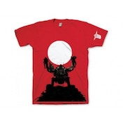 Wolfenstein The New Order Trophy Extra Large T-Shirt Red