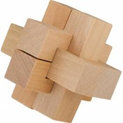 Chunky Wooden Cross Puzzle
