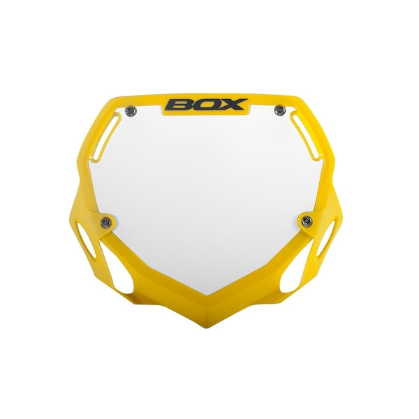 Box Phase 1 Large Number Plate Yellow