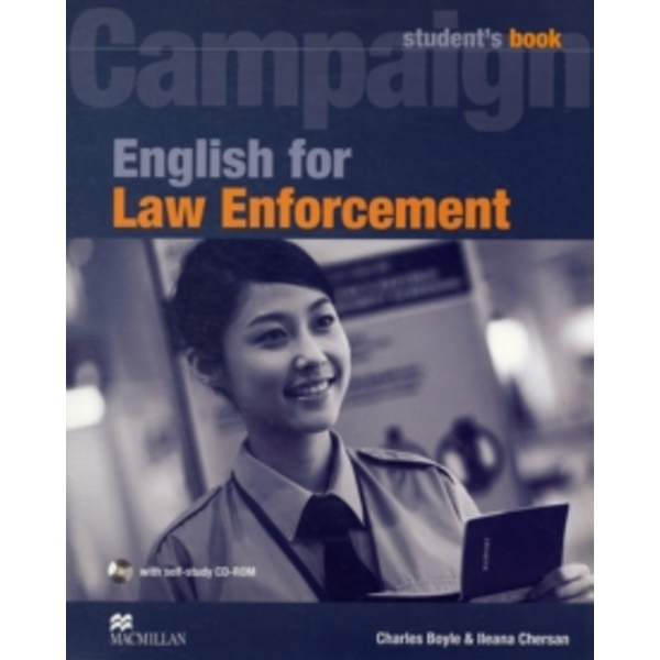 English for Law Enforcement: Student Book with CD-ROM by Macmillan Education (Mixed media product, 2009)