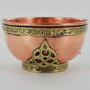 Triquetra Copper Bowl (Small)