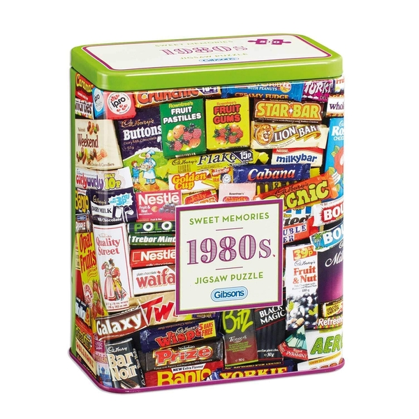 Gibsons 1980's Sweet Memories Jigsaw Puzzle - 500 Pieces - Image 1