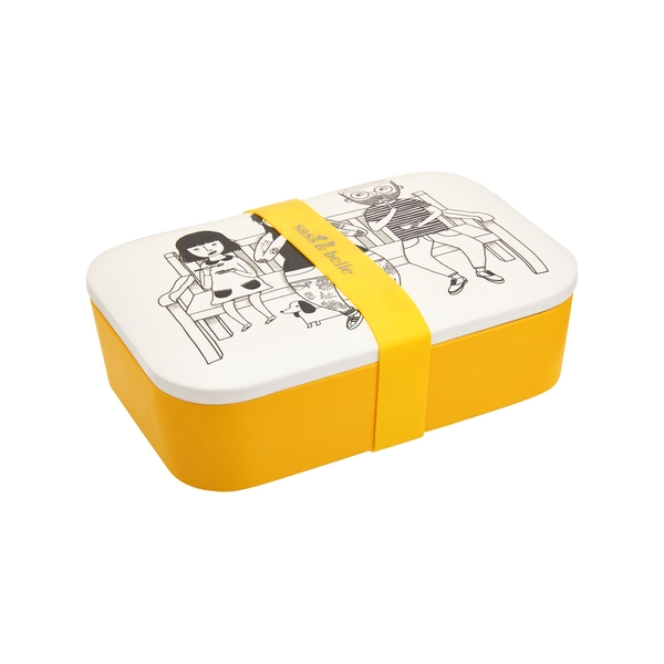 Sass & Belle My Kind of People Bamboo Lunch Box