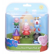 Peppa Pig - Fancy Dress 5 Figure Pack