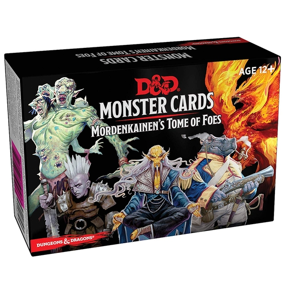 Dungeons & Dragons Monster Cards - Mordenkainens Tome of Foes