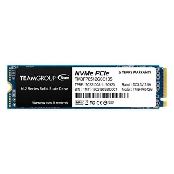 Team MP33 512GB M.2 PCIE NVME Solid State Drive