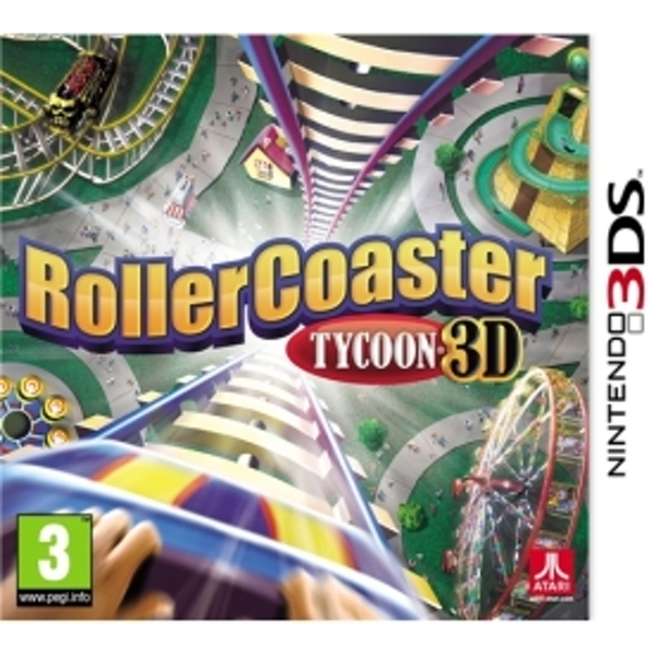 Rollercoaster Tycoon 3D Game 3DS