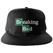 Breaking Bad Logo Embroidered Snapback Cap