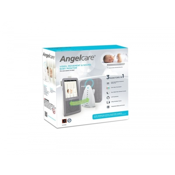 Angelcare AC1100 Digital Video, Movement & Sound Baby Monitor (UK Plug) - Image 6