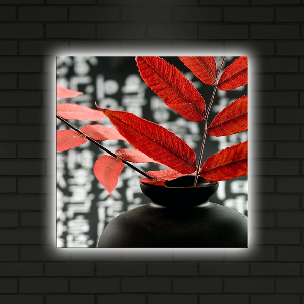 4040DACT-22 Multicolor Decorative Led Lighted Canvas Painting