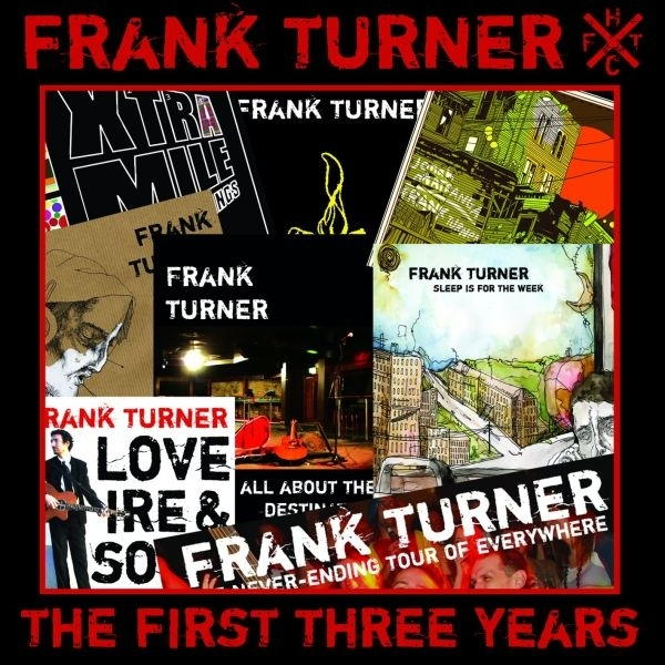 Frank Turner - The First Three Years Explicit CD