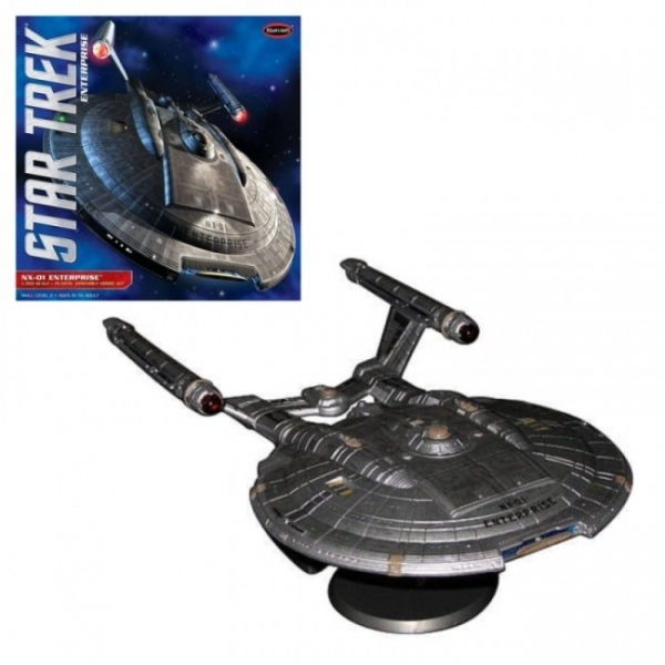 Enterprise NX-01 (Star Trek) 1:350 Scale Model by Polar Lights