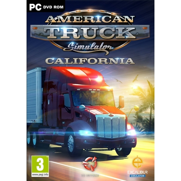 American Truck Simulator Game PC