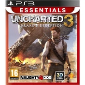 Uncharted 3 Drakes Deception PS3 (Essentials) Game