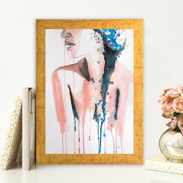 AC167886437 Multicolor Decorative Framed MDF Painting
