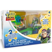 Disney Toy Story Radio Controlled Car - Buzz & Woody