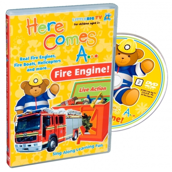 Here Comes A... Fire Engine! DVD