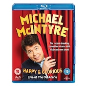 Michael McIntyre - Happy & Glorious Blu-ray