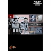 Ex-Display First Order Stormtrooper Jakku Exclusive Hot Toys (Figure, Rifle & Platform Only) Used - Like New