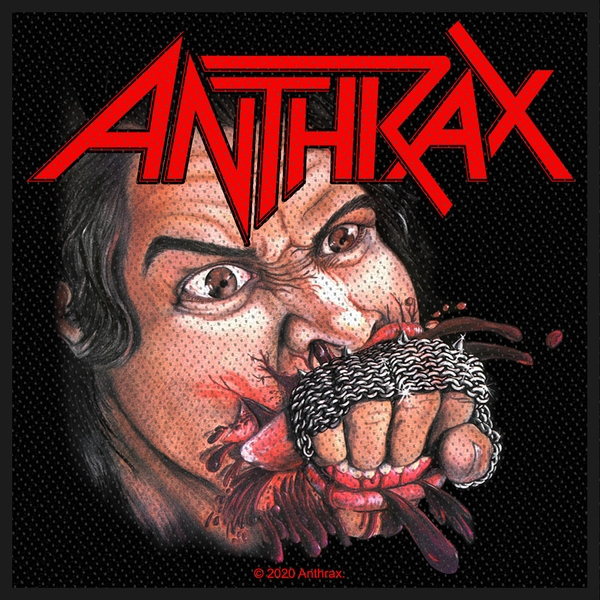 Anthrax - Fistful of Metal Standard Patch