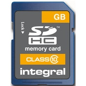 Integral INSDH8G10 Secure Digital SD Card 8GB Class 10