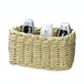 Woven Rope Storage Baskets - Set of 3 M&W Natural - Image 3