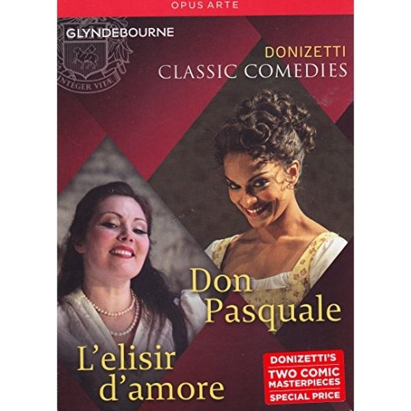 Donizetti: Classic Comedies - Don Pasquale  L'Elisir d'Amore Video Music CD