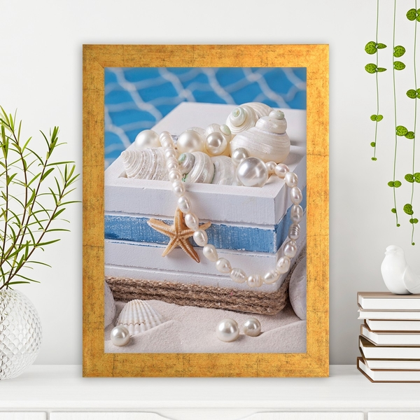 AC1935127736 Multicolor Decorative Framed MDF Painting
