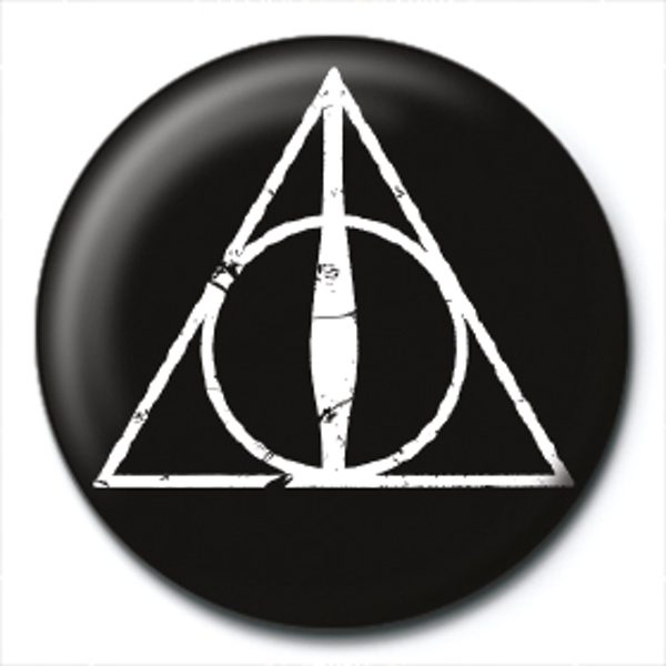 Harry Potter - Deathly Hallows Logo Badge - Image 1