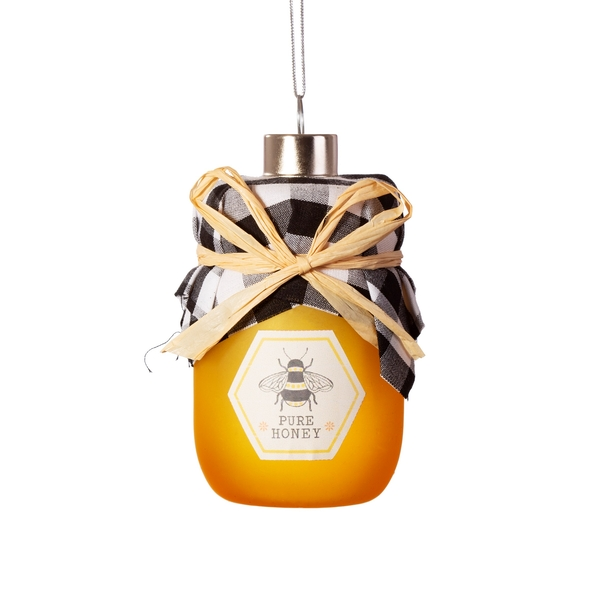 Sass & Belle Honey Jar Shaped Bauble