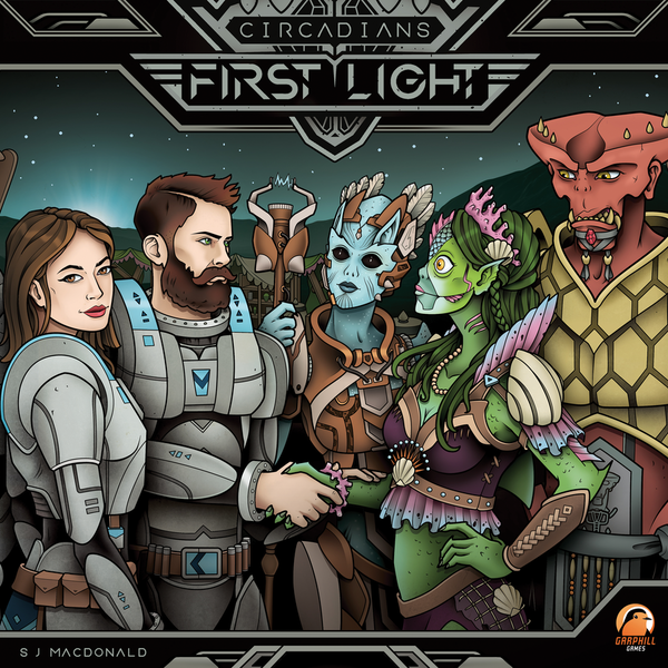 Circadians: First Light Board Game
