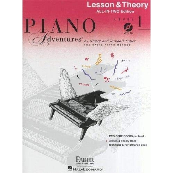 Piano Adventures: Lesson And Theory Book - Level 1 (Book/CD) by Faber Piano Adventures (Paperback, 2013)