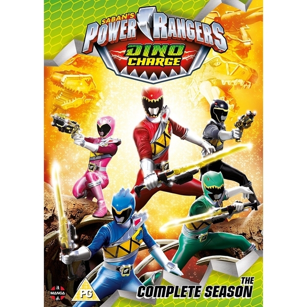 Power Rangers Dino Charge: The Complete Season Boxset (Episodes 1-22) DVD