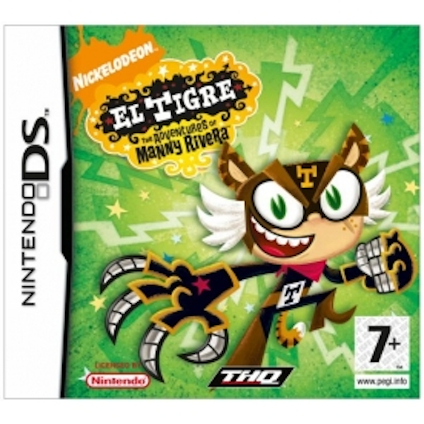El Tigre The Adventure Of Manny Rivera Game DS