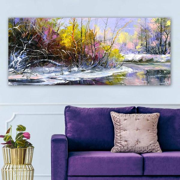 YTY117467_50120 Multicolor Decorative Canvas Painting