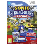 Sonic & Sega All-Stars Racing Game + Steering Wheel Wii