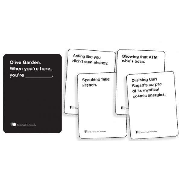 Challenger image inside cards against humanity printable expansions