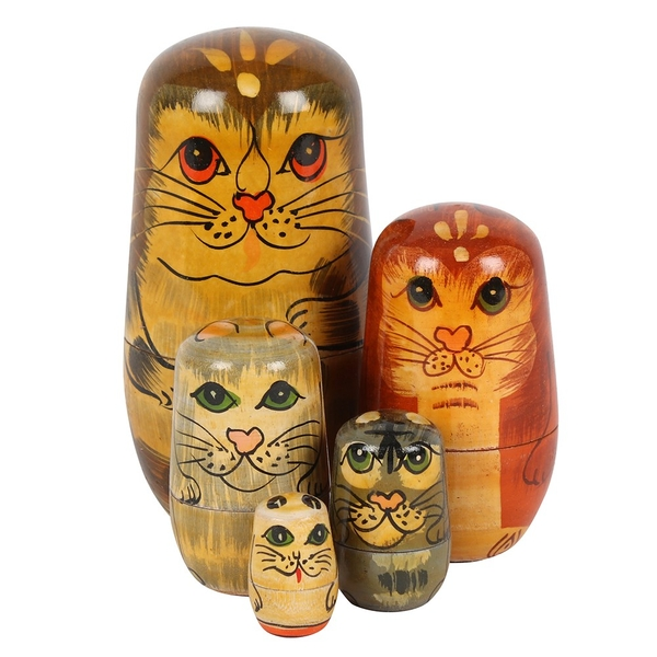 Cat Russian Doll