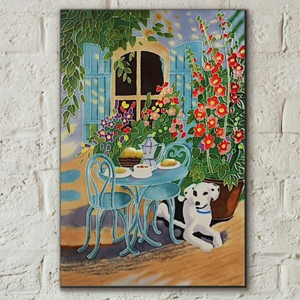 Tile 8x12 Sunny Brunch By J.Yates Wall Art