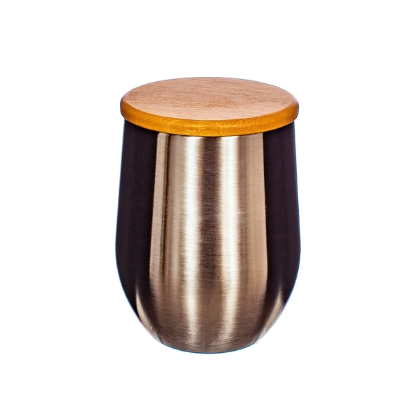 Sass & Belle Stainless Steel Cup With Bamboo lid