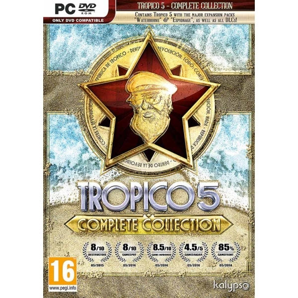 Tropico 5 Complete Collection PC Game