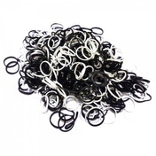 Friendship Loom Refills Black & White 300 Pack