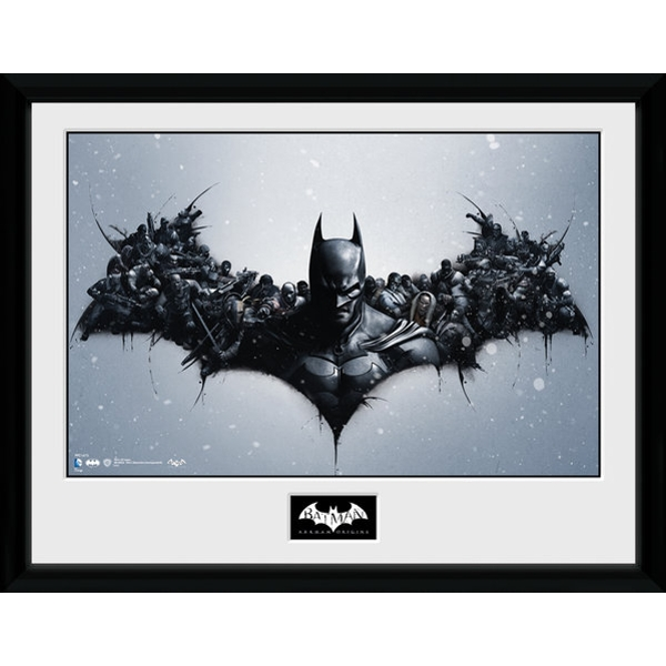 Batman Comic Origins Collector Print
