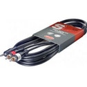 Stagg SYC3/MPS2CM High Quality Y Cable Phone-Plug 3M