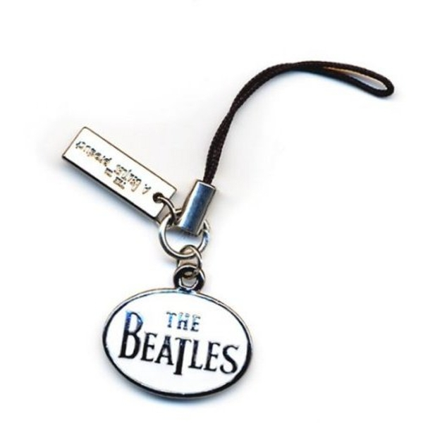 The Beatles - Drop T Logo Phone Charm