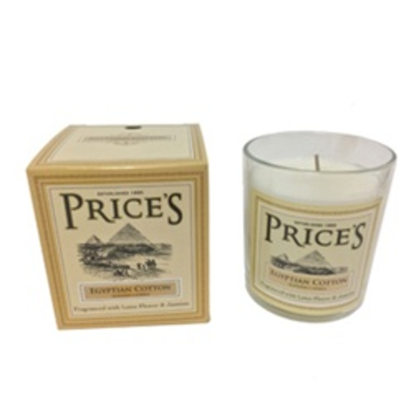 Price's Candles Heritage Jar Egyptian Cotton